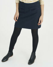 K BNWoT Joules Womens Navy Fearne Tweed Mini Skirt Size 18 Tagged @ £69.95