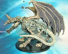 Dungeons & Dragons Miniature  Dracolich Undead Dragon Mage !!  s104b