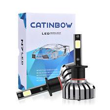 2Pcs H1 White LED COB SMD Car Headlight Low Beam Bulbs 80W 6000K High Power