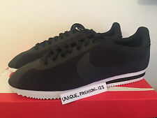 NIKE CLASSIC CORTEZ TP FLEECE US 13 UK 12 47.5 TECH PACK BLACK 749654-001 RUNNIN