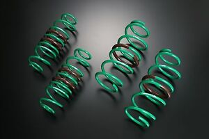 Tein S-Tech Lowering Springs - fits Mazda RX8 SE3P - 2003 Onwards