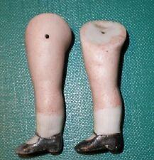 """Antiguo piernas para la fijación de alambre de muñeca casa de muñecas 1.88"""""""