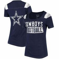Dallas Cowboys Blu Navy Da Donna Vixen Jersey Top