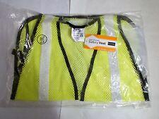 Port Authority SV02 Men's Yellow Mesh Enhanced Visibility Safety Vest L/XL