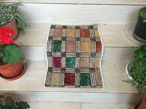 Turkish small rug, Vintage rug, Oushak rug, Area rug, Bohemian rug, Carpet rug