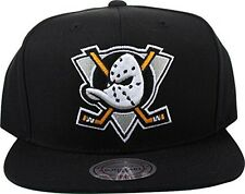 Mitchell And Ness Anaheim Mighty Ducks Black Snapback Hat