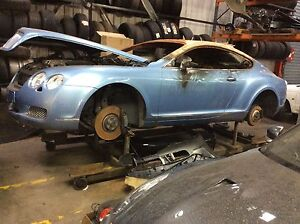 Bentley Continental GT Flying Spur 3W 6.0 W12 twin turbo wheel nut only!!!