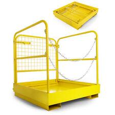 36''*36'&# 039; Forklift Work Platform Safety Cage Durable Safe Non-Slip Updated