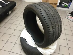 Pneus PIRELLI P ZERO 295 35 21 107Y Fabrication 1018 État Excellent 5+mm