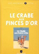 Hergé – Archives Tintin – Le Crabe aux Pinces d'Or – Version Couleurs