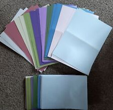Create & Craft PEARLESCENT CARDS & Matching ENVELOPES A6 x 20