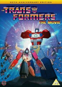 Transformers - The Movie (30th Anniversary Edition) DVD - Brand New - UK
