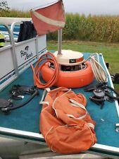 Johnson Air Buoy gas Tankless floating Diving scuba underwater breathing hookah
