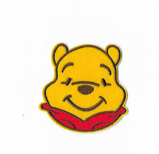 WINNIE THE POOH IRON ON / SEW ON PATCH Embroidered Badge Cartoon TV PT225