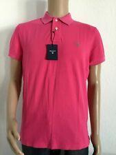 Gant contrast collar pique SS rugger camiseta polo nuevo col cyklamen Rosa * 10