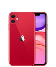 NEW Apple iPhone 11 128GB Product Red Factory Unlocked Fast Shipping !