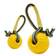 Pet Dog/Puppy Play Rope Ball Throw Pet Toy Fetch Chew Bite Training Teething Toy