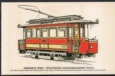 Transport Postcard - Gemeinde Wien - Stadtische Strassenbahnen Tram   DR186