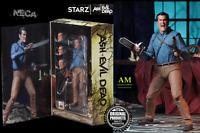 """NECA STARZ TV - ASH vs EVIL DEAD - ULTIMATE HERO ASH - 7"""" ACTION FIGUR - NEU/OVP"""