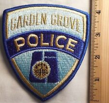 GARDEN GROVE CALIFORNIA POLICE PATCH (HIGHWAY PATROL, SHERIFF, EMS)