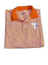 Tennessee Volunteers Russel Men's Orange Polo Golf Shirt Size|M
