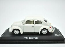 Model Car VW Beetle Scale 1/43 diecast modellcar Static White