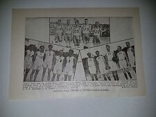 Inter-Allied Games Italy United States 1919-20 Basketball Team Picture