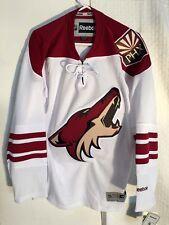 Reebok Premier NHL Jersey Arizona Coyotes Team White sz L