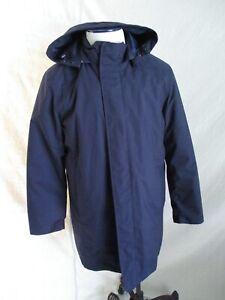 American Airlines Lands End blue primaloft uniform coat Medium short nwt new