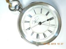 Antique Chronometer Dr.  Pocket Watch 1890 Massive size M. Brodie Manchester