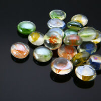 100g Mixed Color Glass Gems Mosaic Tiles Pebbles Nuggets for Deroe Projects