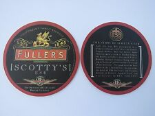 Beer Coaster ~ Fuller's Brewers & BJ's Resturants SCOTTY'S ESB <*> England & USA