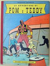 Craenhals: Le avventure di Pom e Teddy ediz. Vallardi 1956
