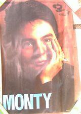 AUTHENTIQUE affiche ancienne publicitaire concert MONTY années 60 disque BARCLAY