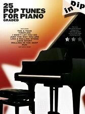 Dip In 25 Graded Pop Piano Solos Learn to Play Lady Gaga Take That Music Book