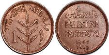 PALESTINE  MIL 1944 KM# 1