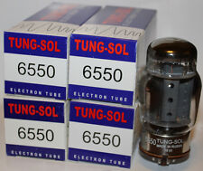 Matched Quads (4 tubes) Tung Sol 6550 Reissue amp tubes, BRAND NEW