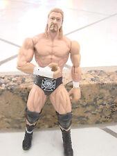 wwe wwf figures HHH 2010 Mattel  2003  skull+wings on black shorts  wrestler