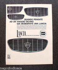 O150 - Advertising Pubblicità - 1967 - LANCIA , UN VIAGGIO SICURO