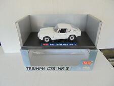 Sun star 1/18 Scale Diecast - 1057 Triumph GT6 MK3 White N Mint  IN box