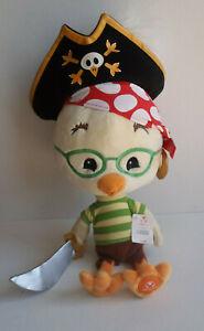 "Disney Store Pirates Chicken Little 19"" Plush - New w/ Tag Halloween"