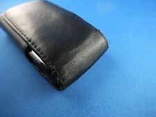 Original Motorola V9 Razr V8 Black Leather Flip Case Leder Kult handytasche TOP