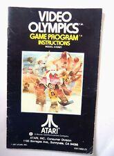 43972 Instruction Booklet - Video Olympics - Atari 2600 / 7800 (1977) CX 2621