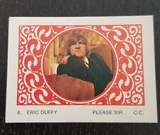 Monty Gum trading card 1970 TV Series: Please Sir #8 Eric Duffy