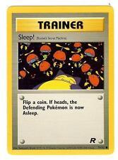 Pokemon Team Rocket Sleep Common Trainer 79/82 - NearMint