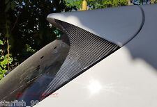 GLOSSY REAL CARBON FIBER REAR ROOF SPOILER SIDE TRIM COVER FOR 13-16 MAZDA CX-5
