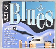 Best of Blues 3 CD Box Set 36 Songs 2000 NEW BB King