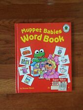 Bonnie Worth Muppets Babies - Word Book - Hardback