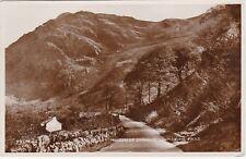 Maiden Of Snowdon From Pass, LLANBERIS, Caernarvonshire RP