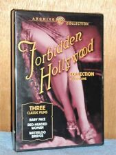 TCM Archives - Forbidden Hollywood Collection - Vol. 1 (DVD, 2006, 2-Disc) NEW